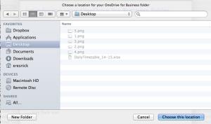 choose desktop