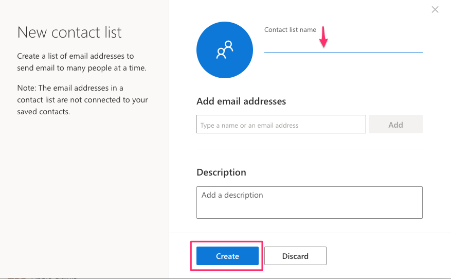 How to Create a Contact List in Outlook Online – GPS IT Support